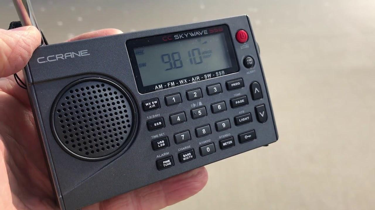 CC Skywave SSB AM, FM, Shortwave, Weather, VHF, Aviation and