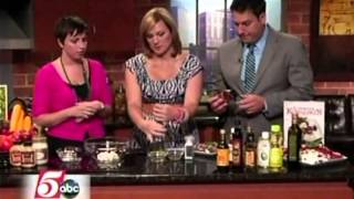 Twin Cities Live Fridge Takeover + Homemade Salad Dressings (7/26/12 on KSTP'S Twin Cities Live)