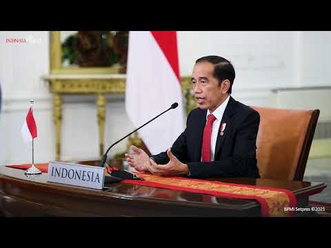 Presiden RI untuk the P4G Partnering for Green Growth and the Global Goals 2030 Summit, 30 Mei 2021