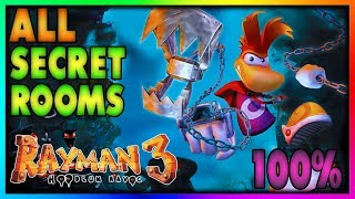 Rayman 3: Hoodlum Havoc | ALL Secret Rooms