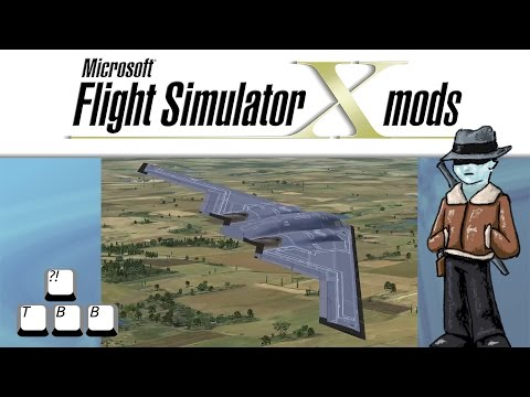 Flight Simulator X Plane Spotlight - Northrop B-2 Spirit