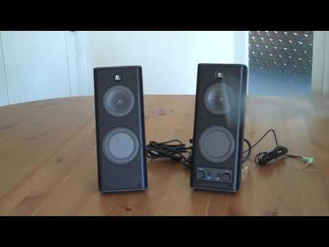 Logitech X-140 Speakers Unboxing & Inside Look