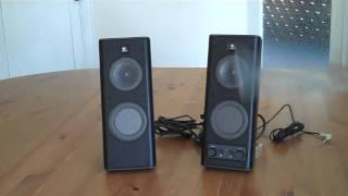 Logitech X-140 Speakers Unboxing & Inside Look
