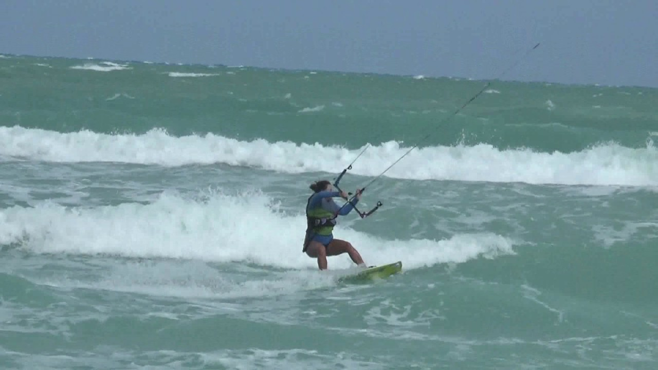 Kitesurfing Miami Beach Usa 2017 Jola I Jacek