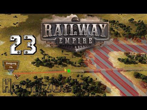 Railway Empire S01/E23 🚂: Brückenbau über den Mississippi  - Let´s Play[german/deutsch]