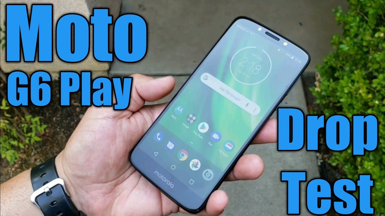 online store f483d 9fdaa Moto G6 Play Drop Test - Will it survive?