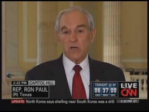 CNN's Ali Velshi interviews Congressman Ron Paul