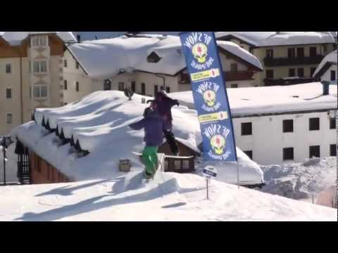 Snowboard freestyle Burning Boards BBhc 2010 edit Campiglio snowpark URSUS
