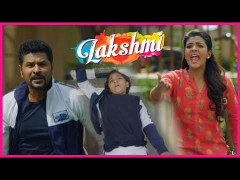 Ditya Meets With an Accident | Lakshmi Movie Scenes | Prabhu Deva | Aishwarya Rajesh | Kovai Saral