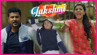 Ditya Meets With an Accident | Lakshmi Movie Scenes | Prabhu Deva | Aishwarya Rajesh | Kovai Saral