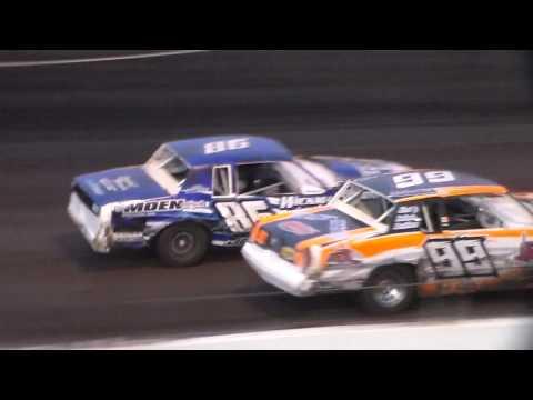 Hobby Stock Amain @ Hancock County Speedway 06/23/17