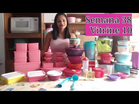 Abrindo Caixa Tupperware Semana 38 Vitrine 10 Youtube
