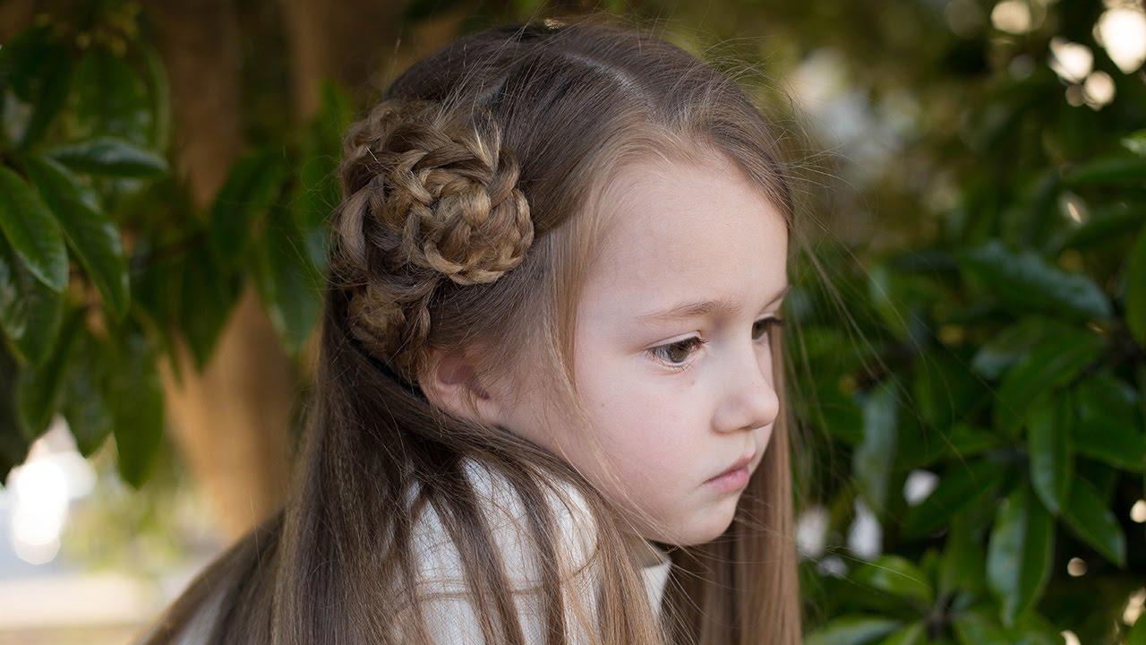 side-triple-flower-cute-girls-hairstyles