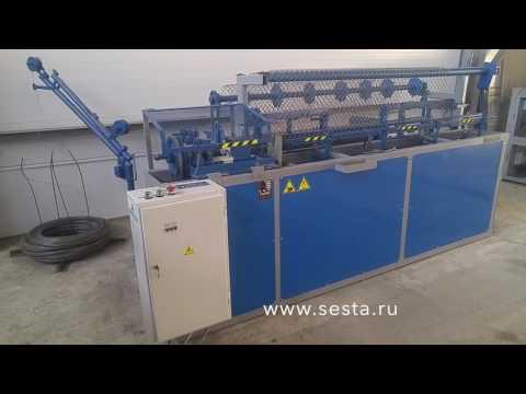Новая модель станка для производства сетки рабицы ВСА 015