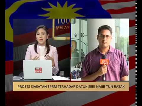 Proses siasatan SPRM terhadap Datuk Seri Najib Tun Razak