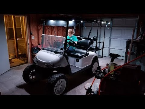 Custom Ezgo Golfcart Led Lights Part 3