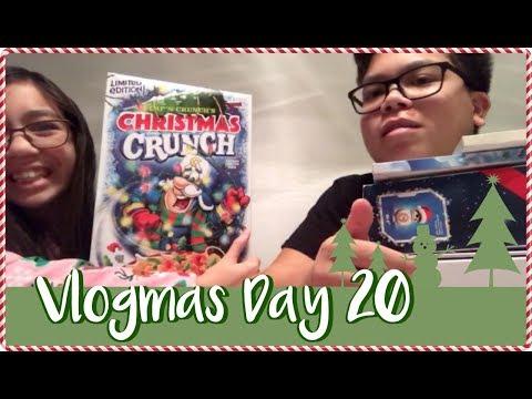 VLOGMAS 2017 DAY 20 - CAP'N CRUNCH'S CHRISTMAS CRUNCH