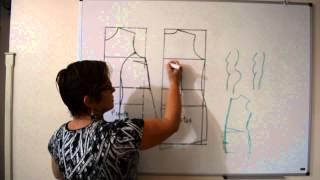 DIY : Corrigindo molde de vestido e blusa para vários tipos de corpo