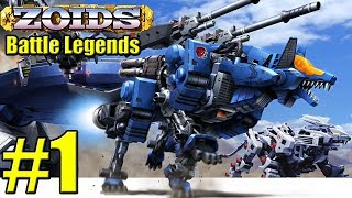 Zoids Battle Legends Playthrough Part 1