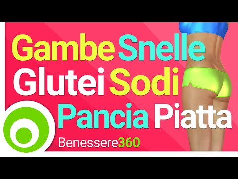 Gambe Snelle, Glutei Sodi e Pancia Piatta | 25 minuti di Fitness a Casa