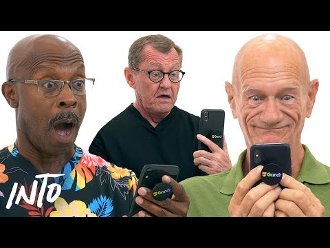 Old Gays Try Grindr