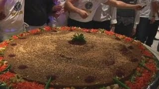 World record: Officially the biggest falafel in the world