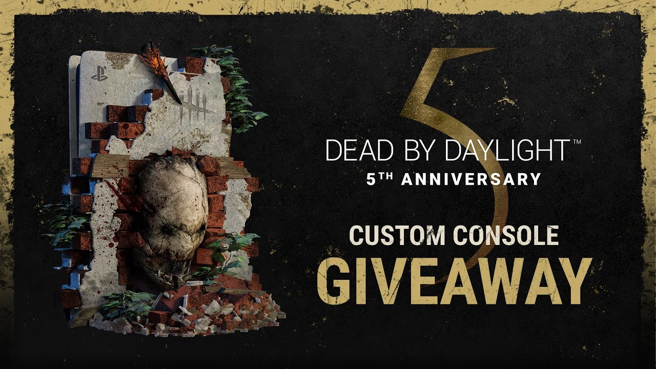 Dead by Daylight | Dead by Daylight Custom Playstation®5 Sweepstakes