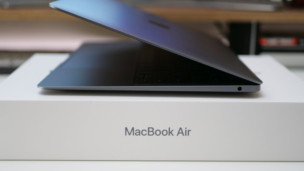2018 Macbook Air Unboxing Setup And First Look Youtube