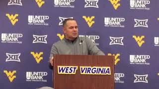 West Virginia Mountaineers Football: Tony Gibson 9/18/18