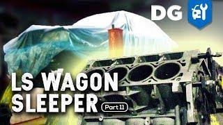 ENGINE REBUILD = SURPRISE UPGRADE: LS Swap in a Mercedes AMG Wagon (Part 11)