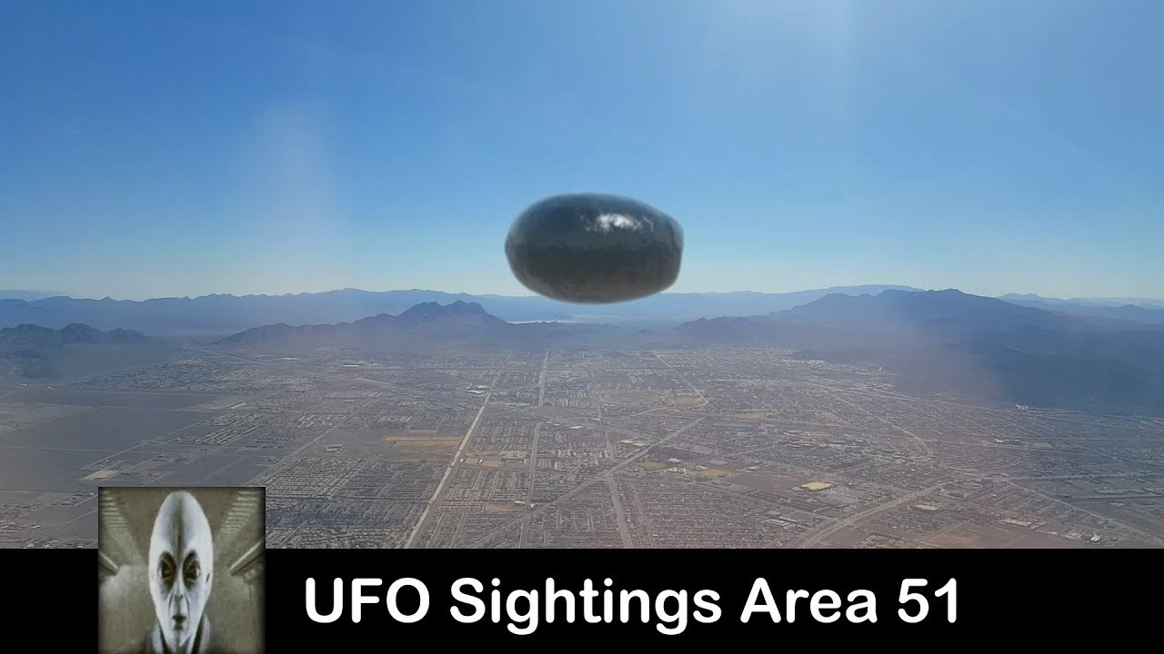 UFO Sightings Area 51 August 3rd 2017 YouTube