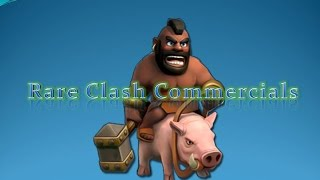 RARE Clash of Clans Commercials - HAM and More!