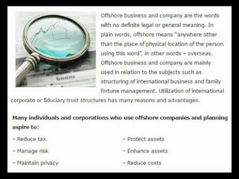 how to register offshore company