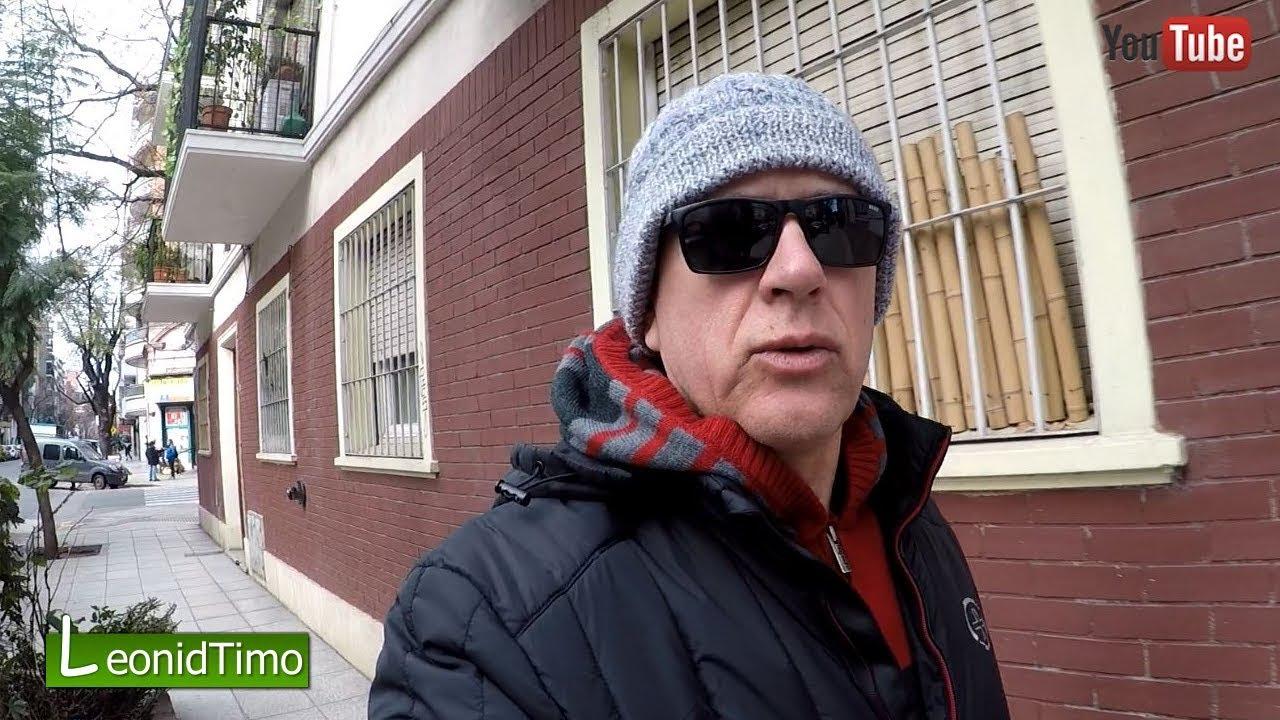 Суровая Аргентинская зима пришла в Буэнос Айрес