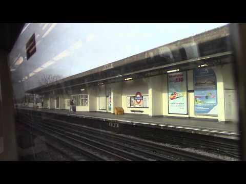 London Underground Piccadilly Line - Barons Court to Acton Town