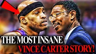 This Vince Carter Story Is SAVAGE! He Body Slammed His Own COACH!