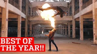Video PEOPLE ARE AWESOME 2017 | BEST VIDEOS OF THE YEAR! download MP3, 3GP, MP4, WEBM, AVI, FLV Februari 2018