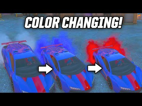 GTA 5: COLOR CHANGING TIRE SMOKE! GTA 5 Patriotic Smoke Online Gameplay & Announcement (GTA V)