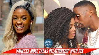 """i cried soo much"" VANESSA MDEE FINALLY ADDRESSES HER SPLIT RELATIONSHIP WITH JUX 