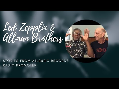 Neil &  Big M talk Led Zeppelin & Allman Brothers & early days  at Ahmet Ertegun's iconic label
