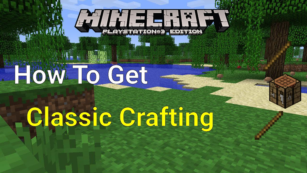 how to get glass in minecraft ps4