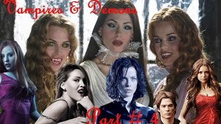 ► Vampires Andamp Demons ϟ Part 4  ✿ Cry Little Sister ✿