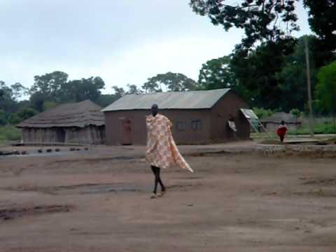 Towering Dinka man-Rumbek, Southern Sudan, Africa-Carlo Grossi