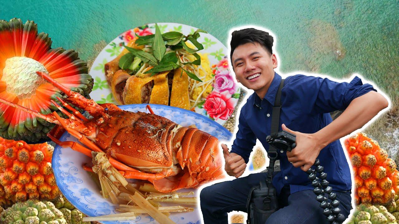 Ăn MÓN DÂN DÃ, ăn HẢI SẢN NGON cạnh Gành Đá Đĩa |Du Lịch Phú Yên #2