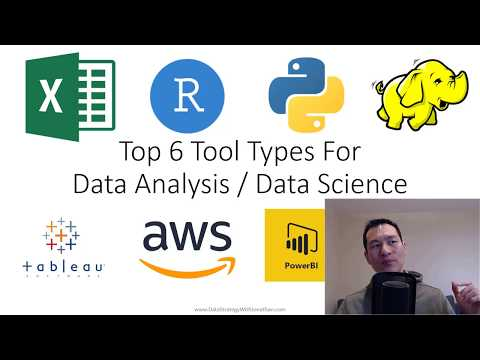 Top 6 Tool Types For Data Analysis / Data Science - Save Hours By Using The Right Tool