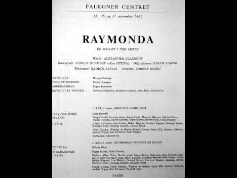 1965-xi-27 The Australian ballet: Raymonda  reel 109.2 (AUDIO ONLY).
