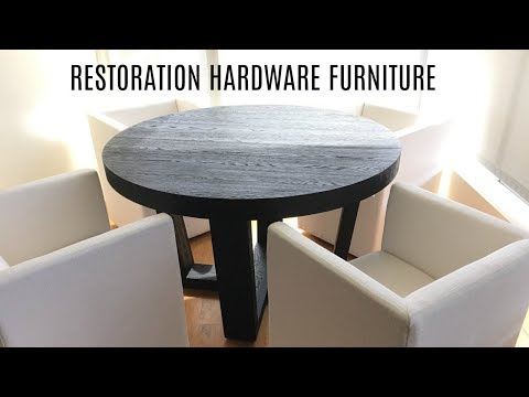 First Impression | Restoration Hardware Dining Room Furniture