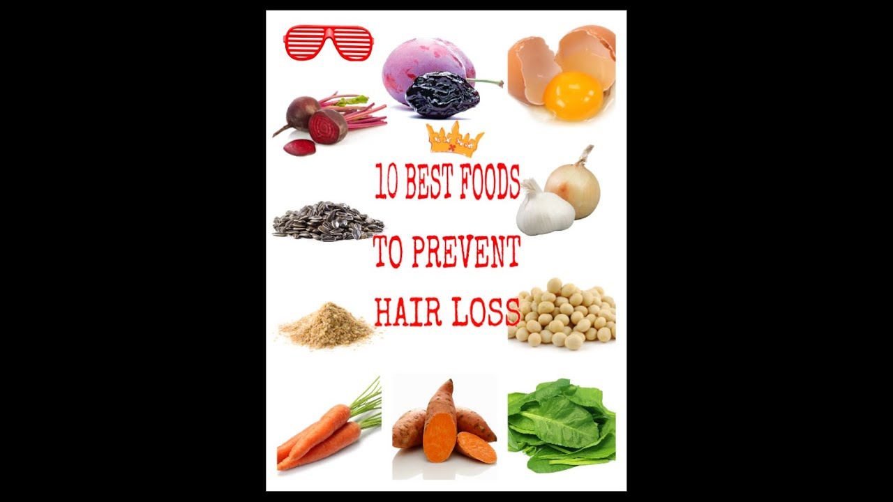 13 Best foods to prevent hair loss - YouTube
