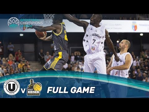 Cluj-Napoca (ROU) v MHP Riesen Ludwigsburg (GER) - Full Game - Basketball Champions League 17-18