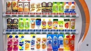 Японамать из автомата #1: Обзор напитков DyDo